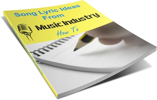 Song ideas and lyric ideas list and free ebook