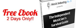 Free Independent Musician ebook 2 days only