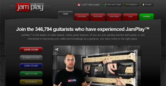 Jamplay Review guitar lessons