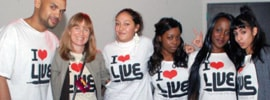 The I Luv Live Street Team