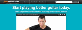 Jamorama Review, Are These Cheap Online Guitar Lessons Good Value?