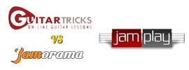 Jamplay vs Jamorama vs Guitar Tricks