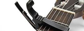 Best ways to use a guitar capo