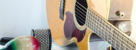 Percussive Style Acoustic Guitar