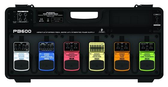 Behringer PB600 Universal Effects Pedal Floor Board