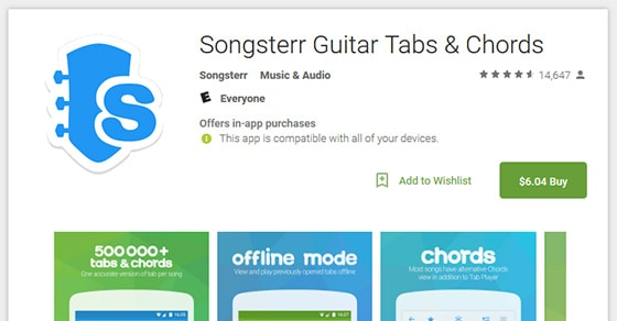6 Best Android Apps For Guitarists And Guitar Players - Music Industry How To