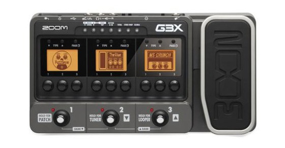 Zoom G3X – Guitar Effects And Amplifier Simulator With Expression Pedal