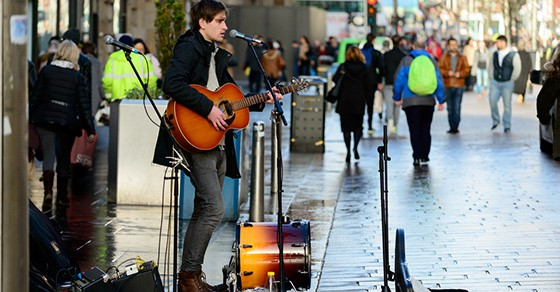 How To Start Busking And Street Performing Music Industry
