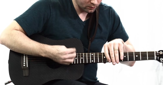 KLOS Travel Guitar