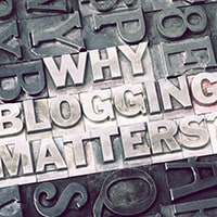 Blogging ideas for music industry people