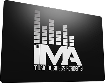 Music business course membership card