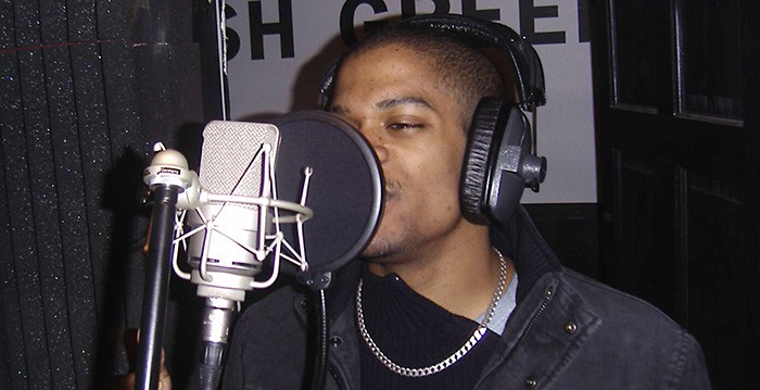 Shaun in the studio